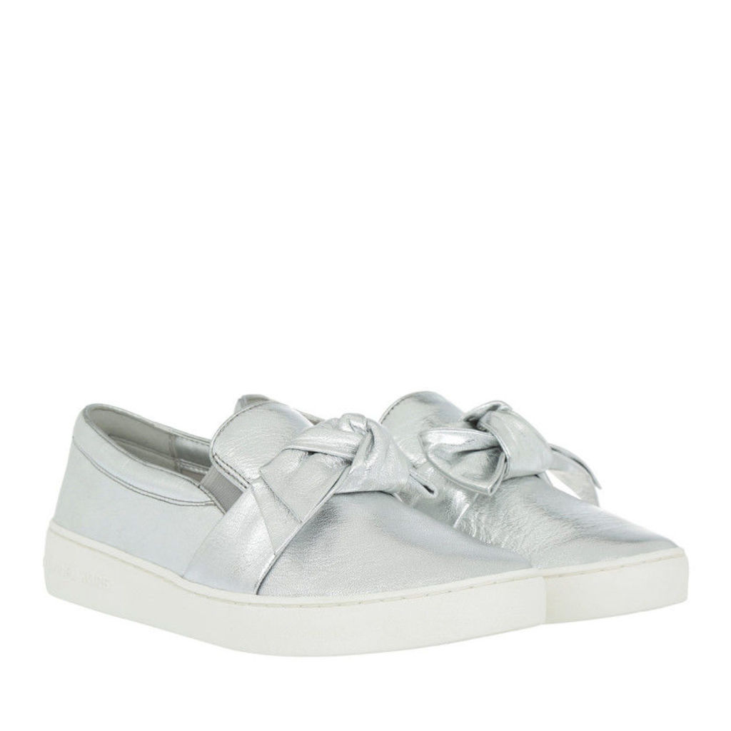 Michael Kors Loafers & Slippers - Willa Slip On Silver - in silver - Loafers & Slippers for ladies