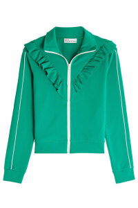 RED Valentino Ruffle Running Jacket