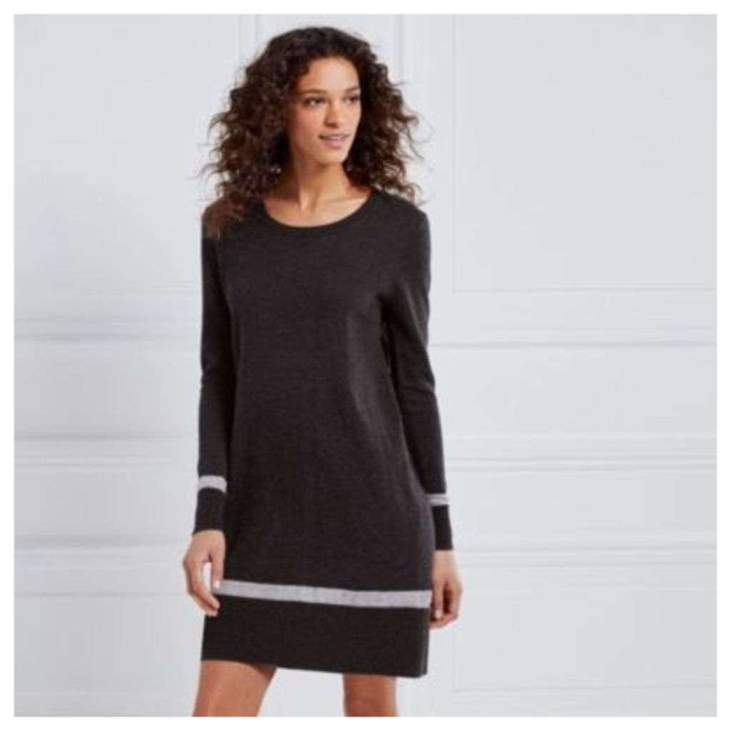 Knitted Stripe Hem Tunic