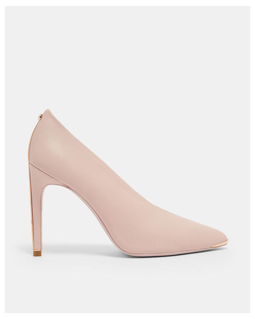 Ted Baker Bow heel high vamp courts Light Pink