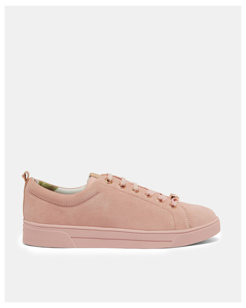 Ted Baker Lace up tennis  trainers Pink