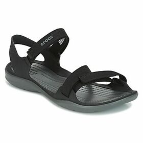 Crocs  SWIFTWATER WEBBING SANDAL W  women's Sandals in Black