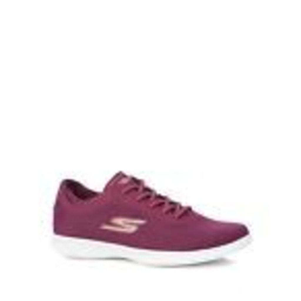 Skechers Womens Purple 'Go Step Lite Dashing' Trainers From Debenhams