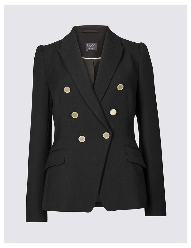 M&S Collection Gold Button Jacket
