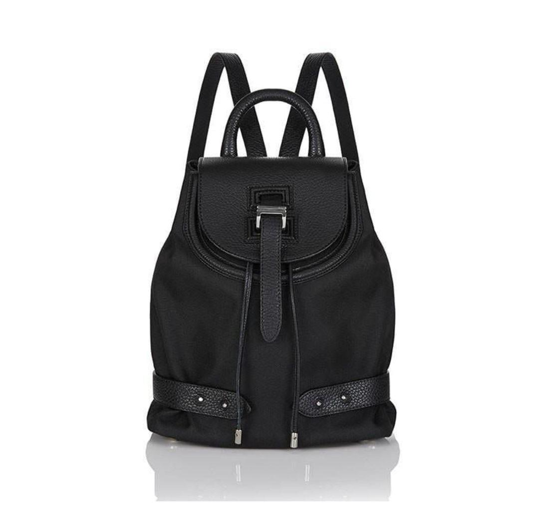 Nylon Backpack Mini Black