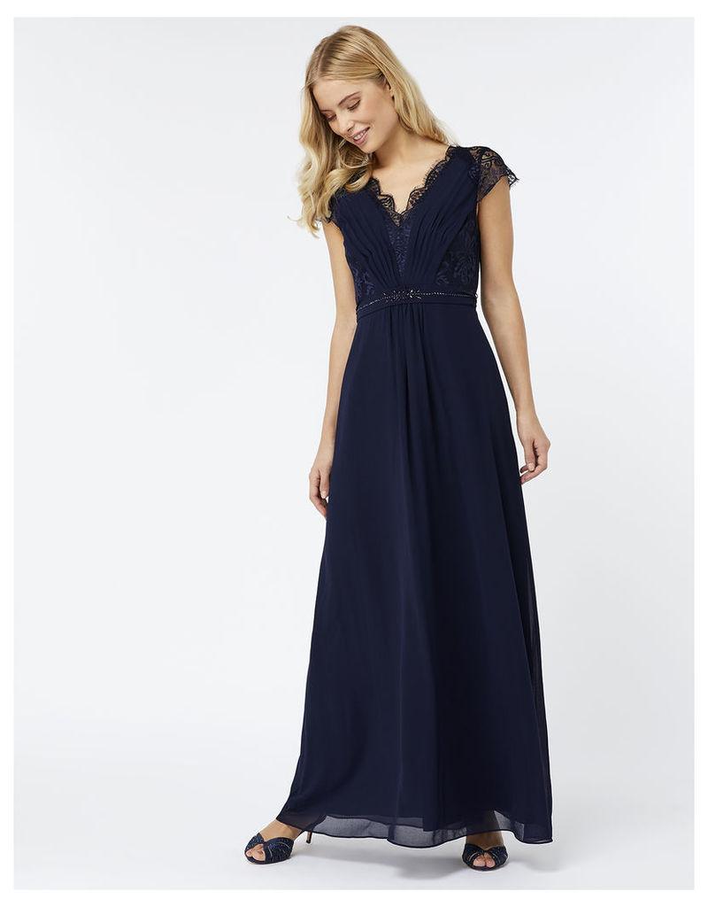 Brigitte Lace Shorter Length Dress