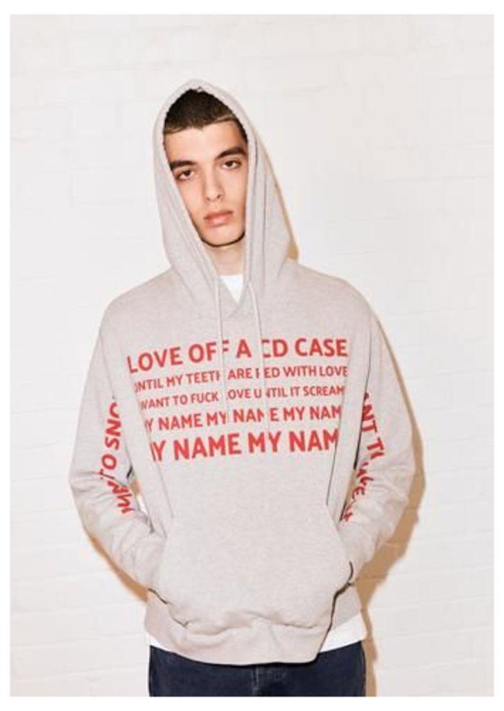 @maxwallis 'Love' hoodie