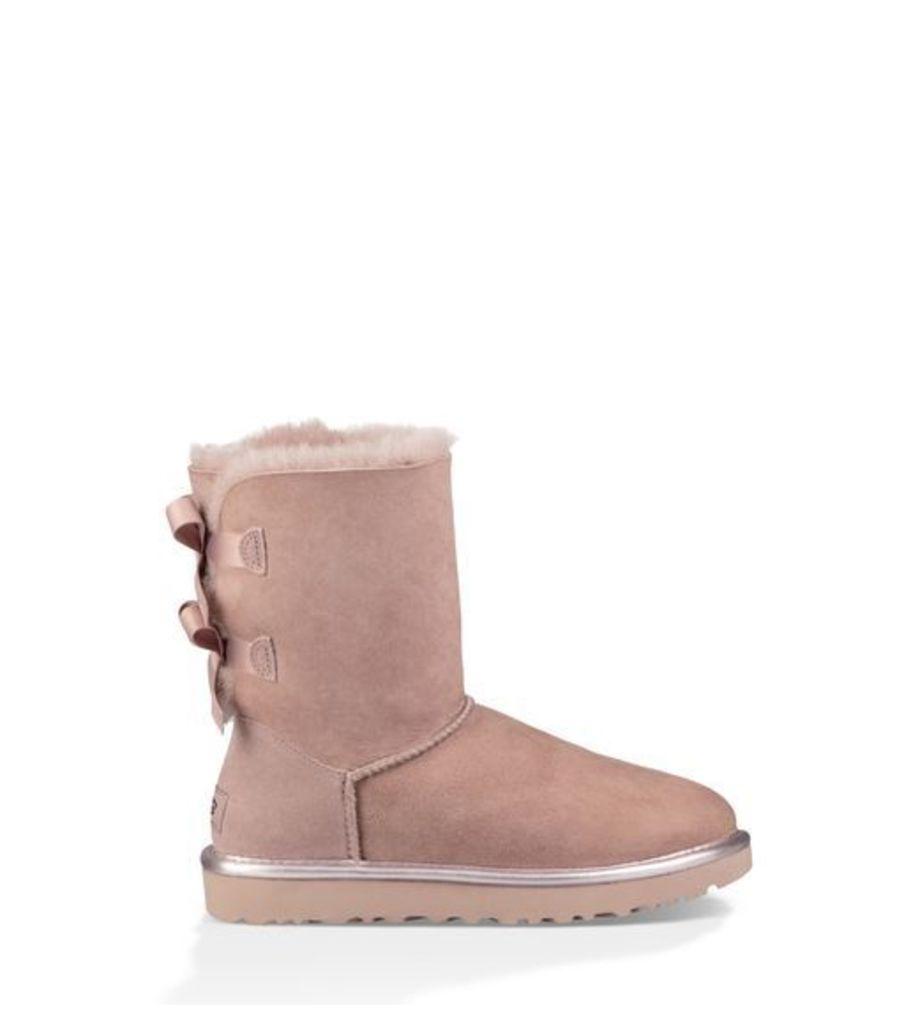 UGG Bailey Bow Ii Metallic Womens Boots Dusk 9