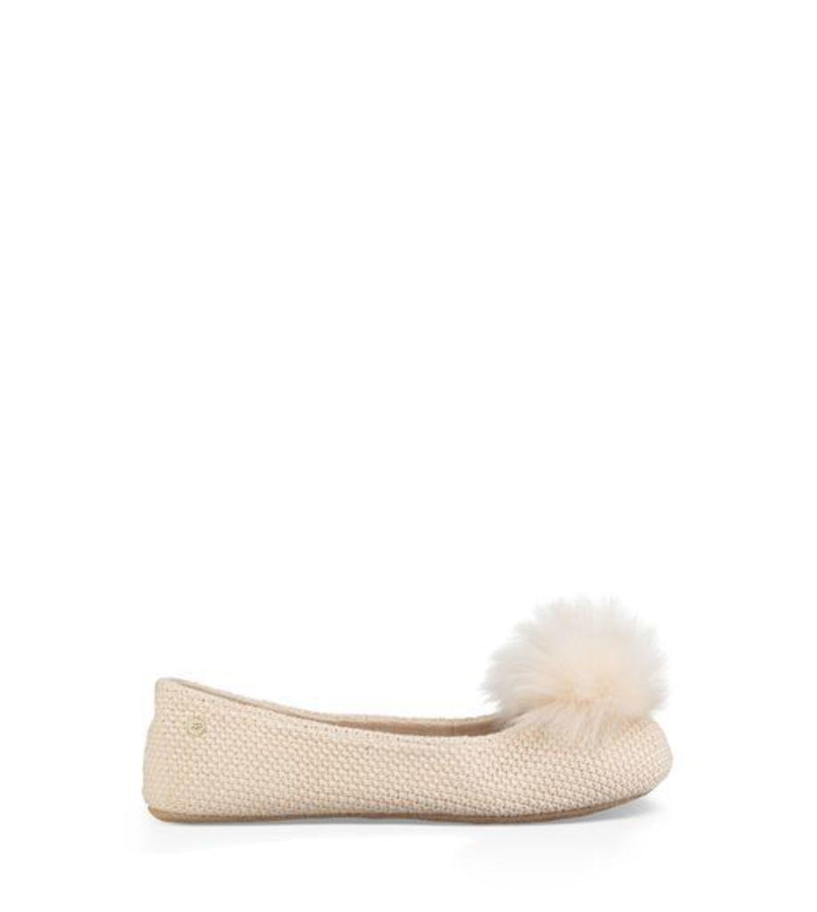 UGG Andi Womens Slippers Cream 5