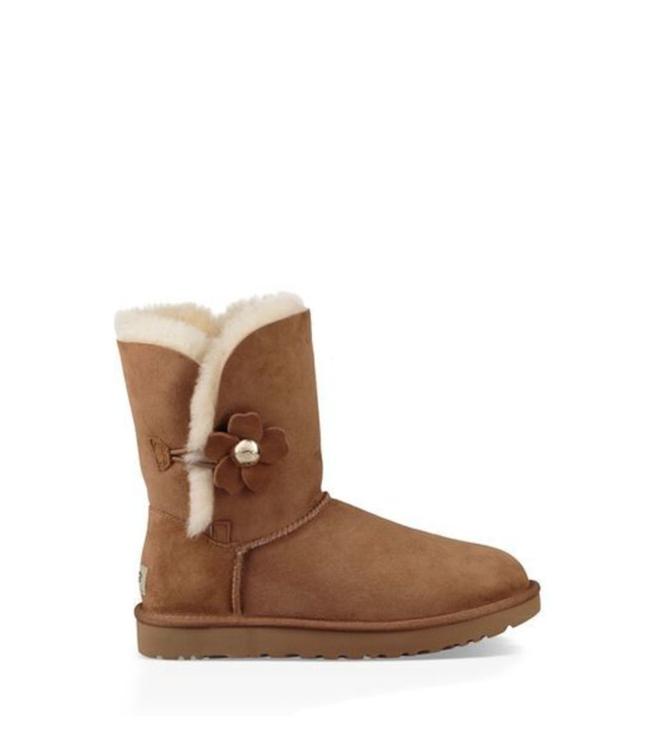 UGG Bailey Button Poppy Womens Boots Chestnut 3