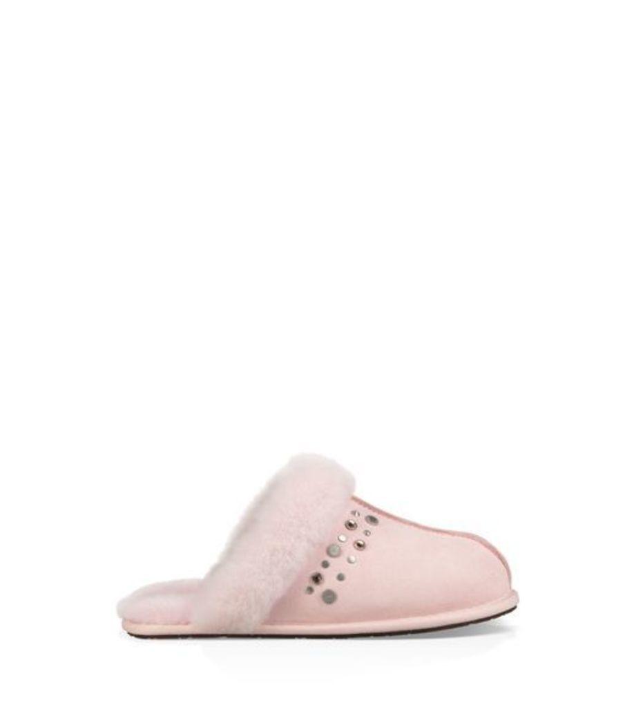 UGG Scuffette Ii Studded Bling Womens Slippers Seashell Pink 6