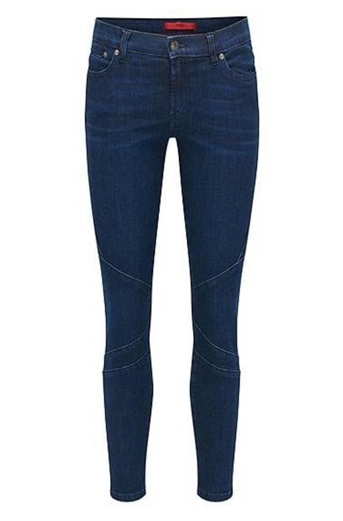Skinny-fit jeans in super-stretch denim