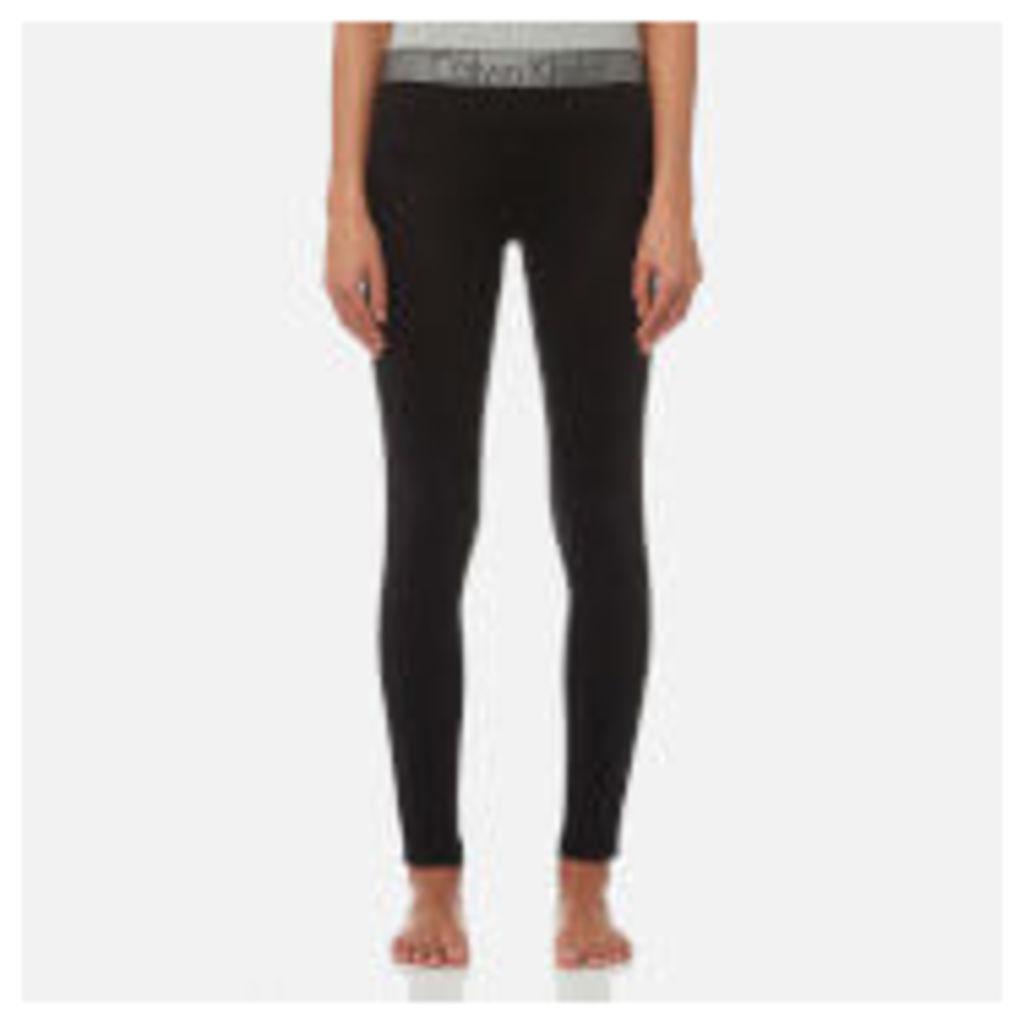 Calvin Klein Women's Logo Leggings - Black - XS - Black