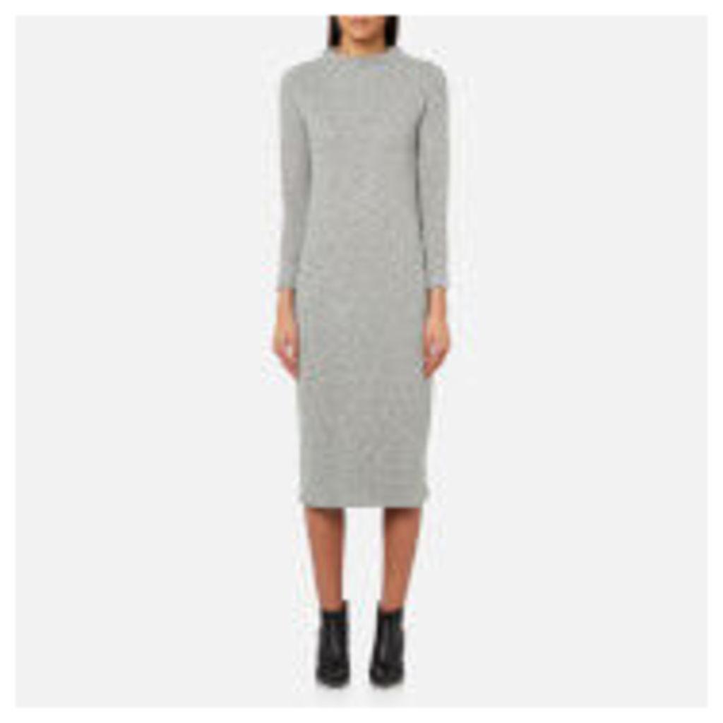 BOSS Orange Women's Damare Dress - Medium Grey - XS - Grey