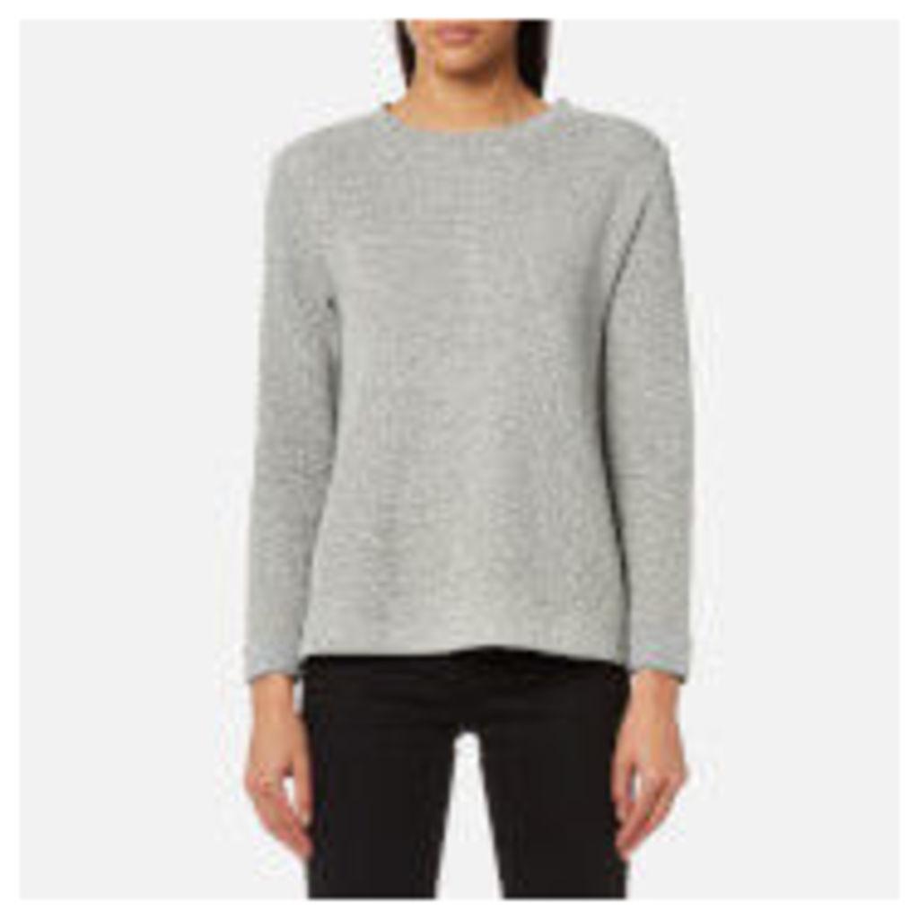 BOSS Orange Women's Tusweat Sweatshirt - Medium Grey - M - Grey