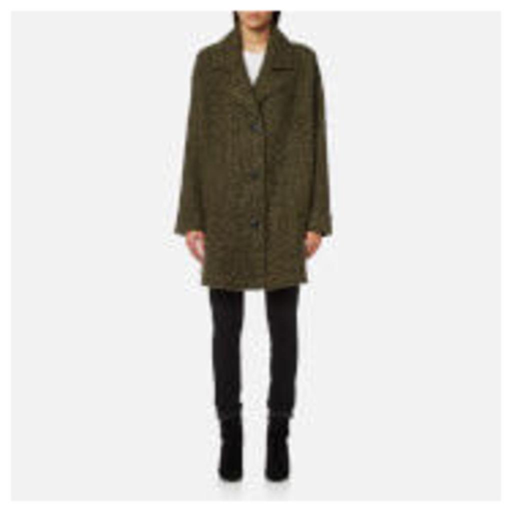 McQ Alexander McQueen Women's Volume Caban Coat - Khaki - IT 40/UK 8 - Green