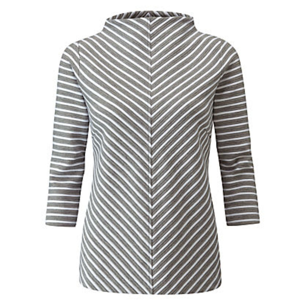 Pure Collection Textured Cotton Top