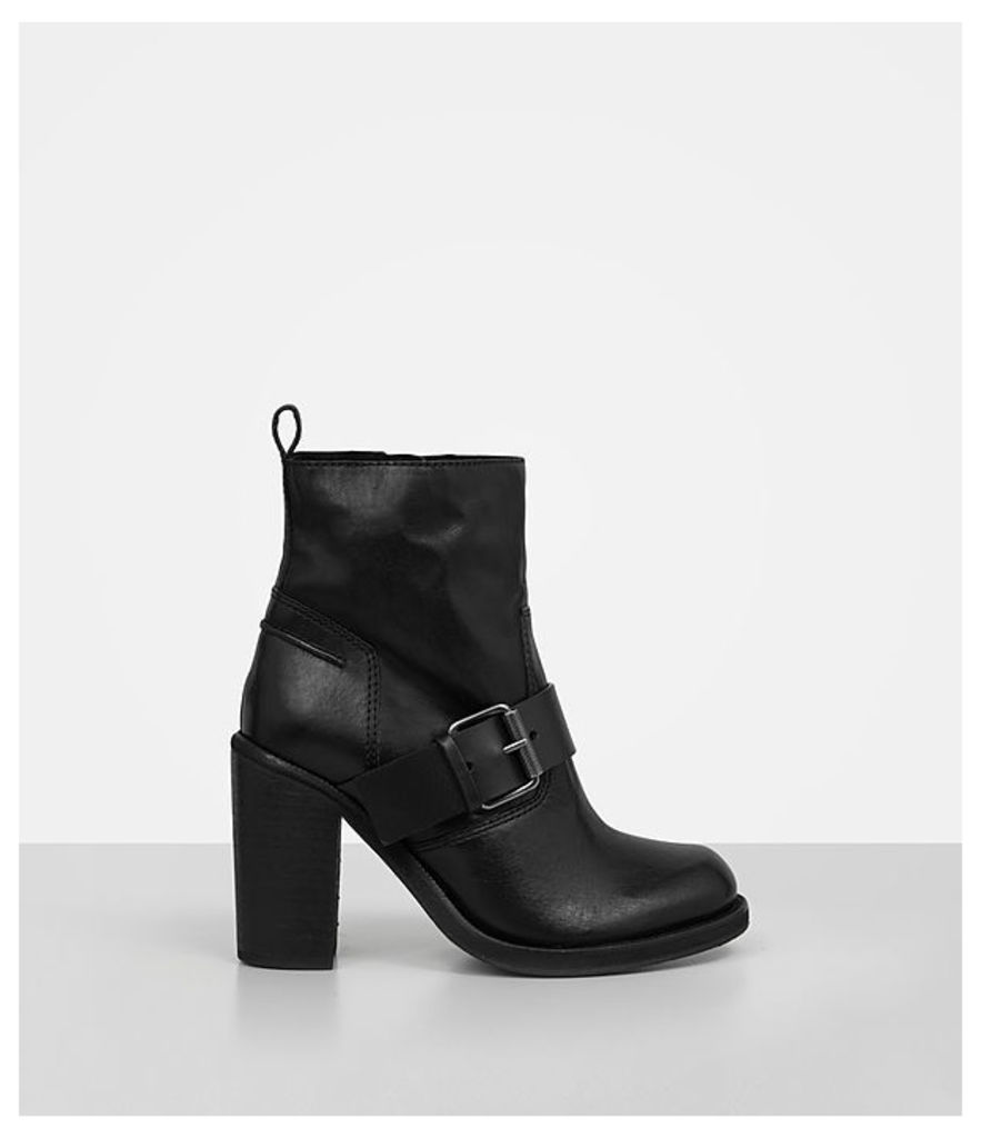 Zadie Heeled Shearling Boot