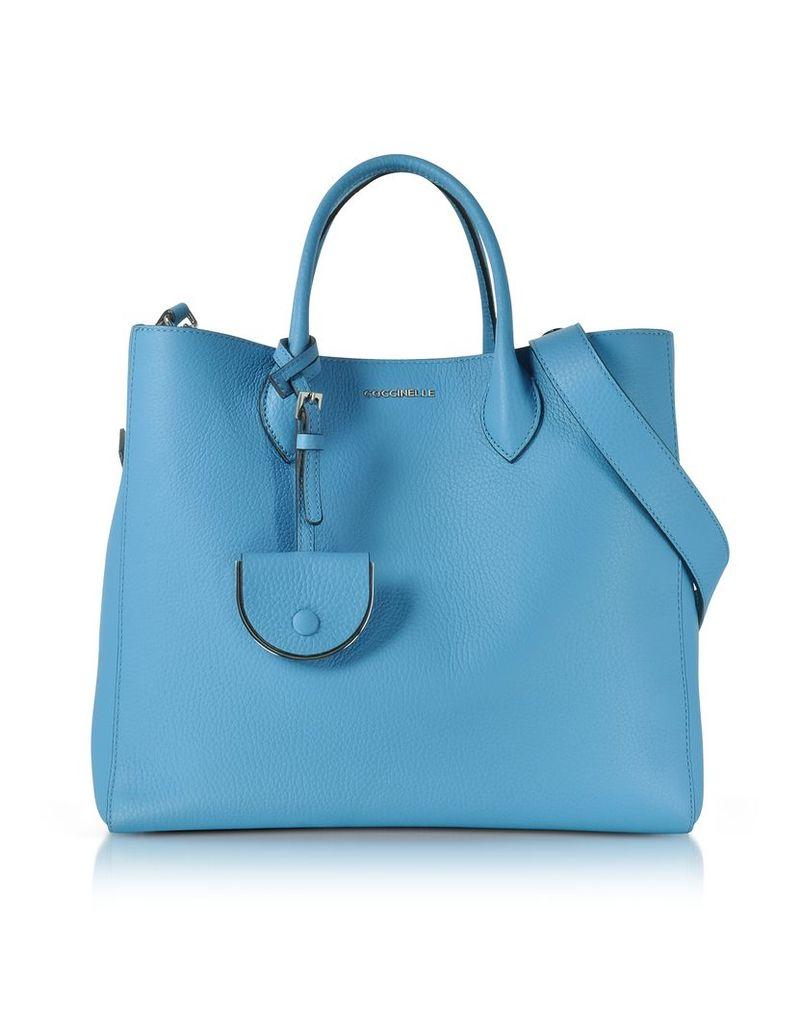 Coccinelle Handbags, Jamila Pebbled Leather Tote
