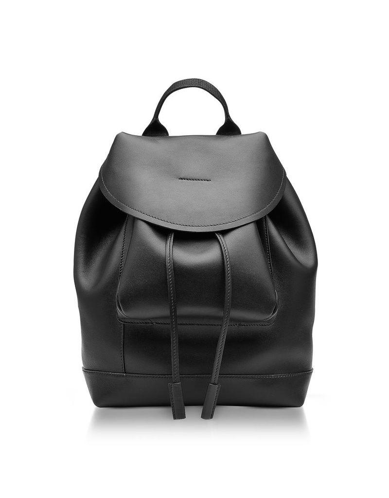 Marni Handbags, Black Leather Kit Backpack