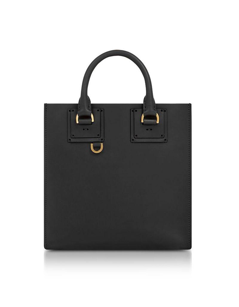 Sophie Hulme Handbags, Black Albion Square Tote