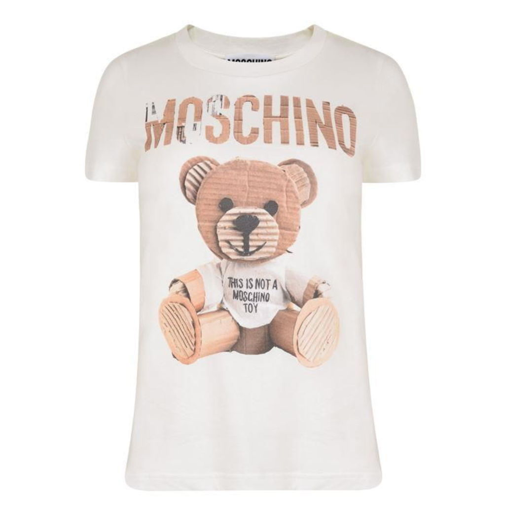 MOSCHINO Teddy Fitted T Shirt