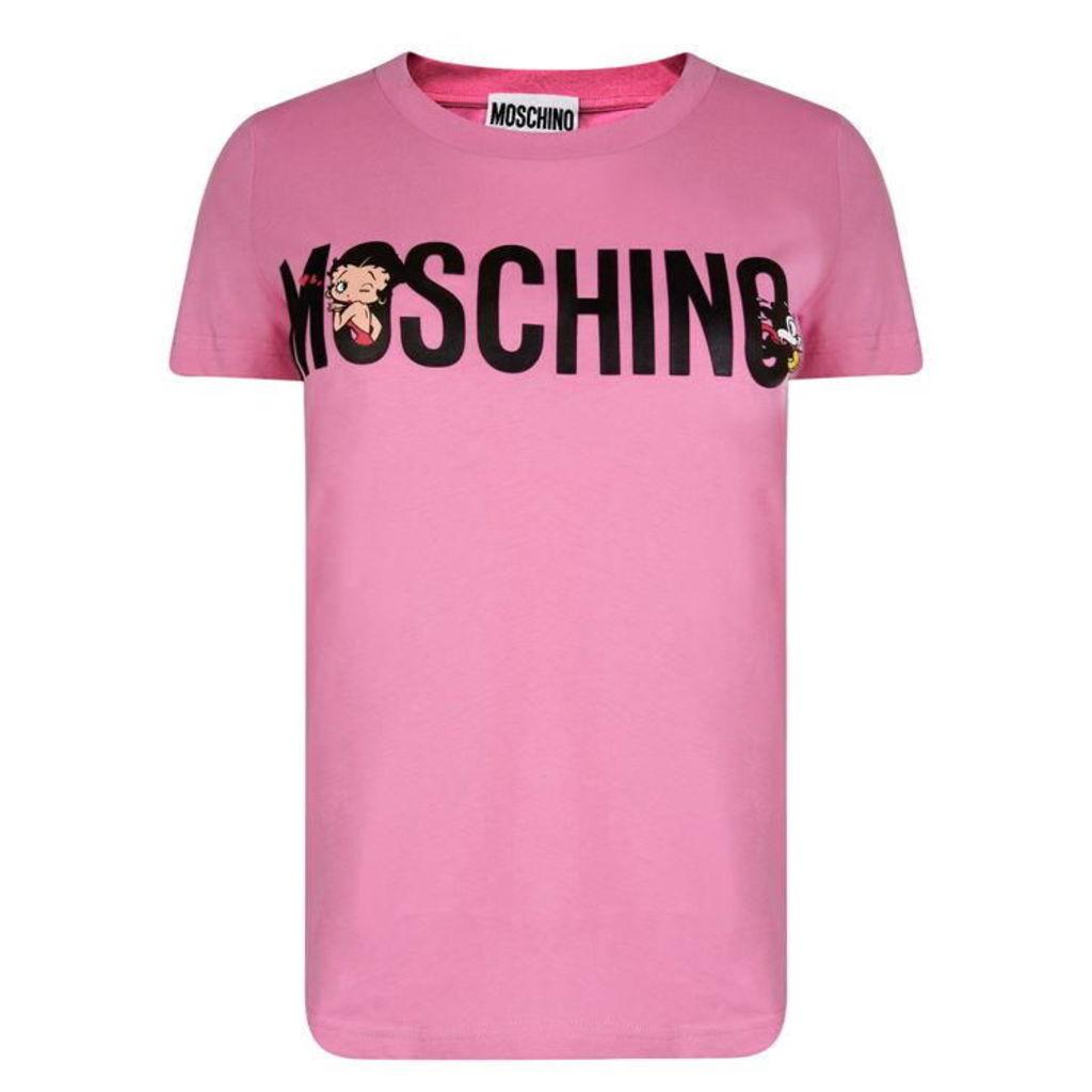 MOSCHINO Boop T Shirt