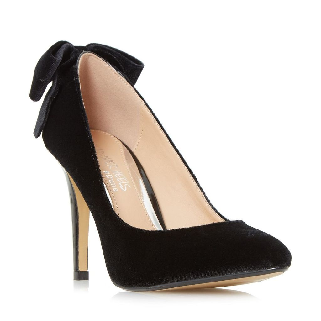 Ashleigh Bow Back Pointed Toe Court Shoe