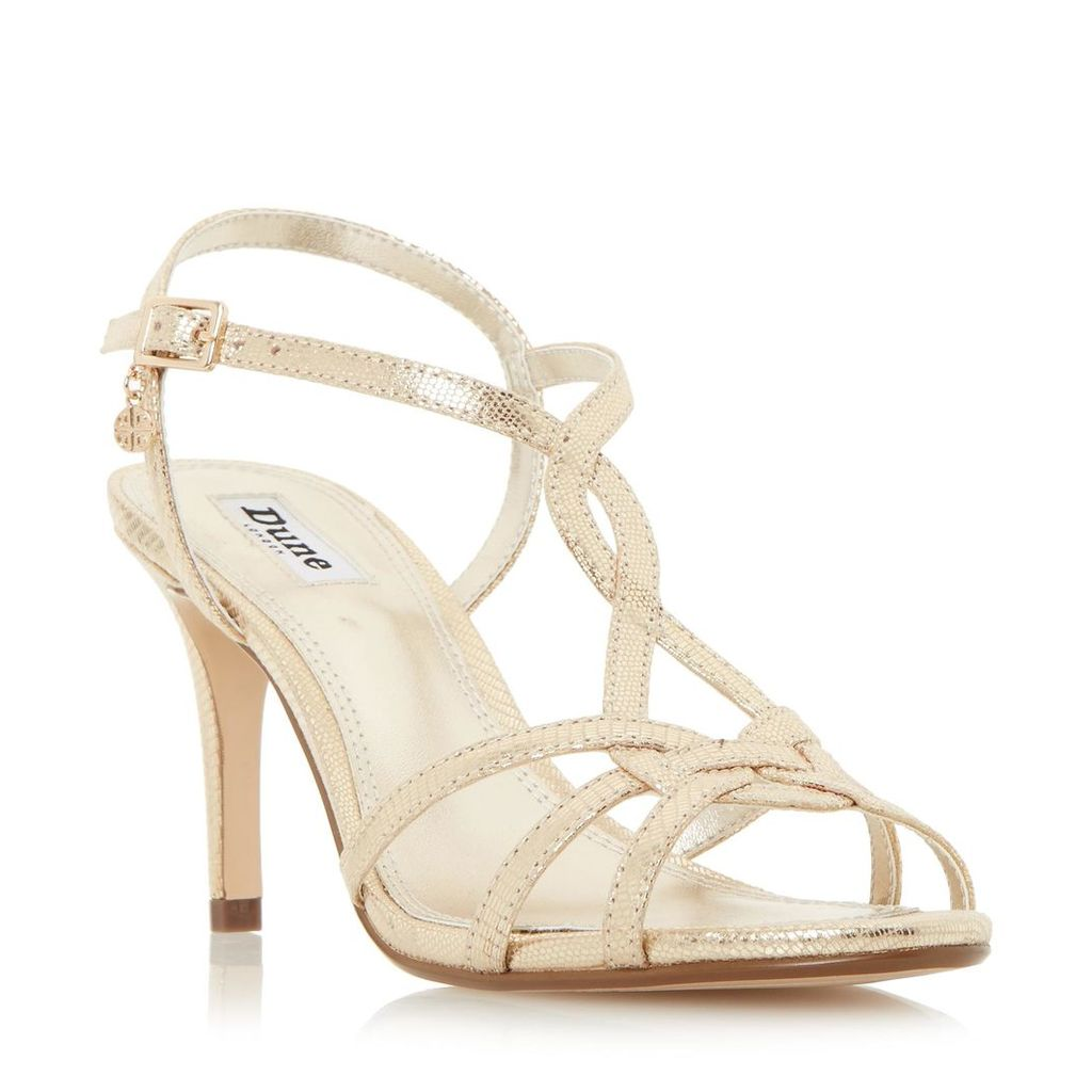 Miniee Strappy Mid Heel Sandal