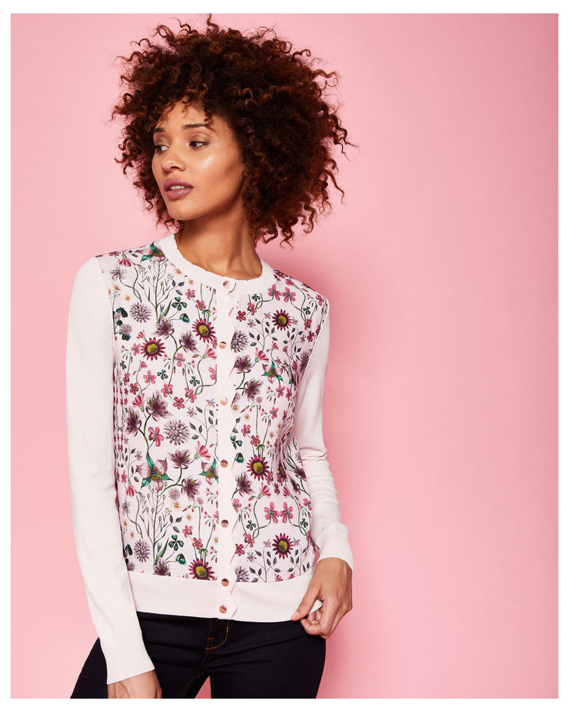 Ted Baker Unity Floral cardigan Pink