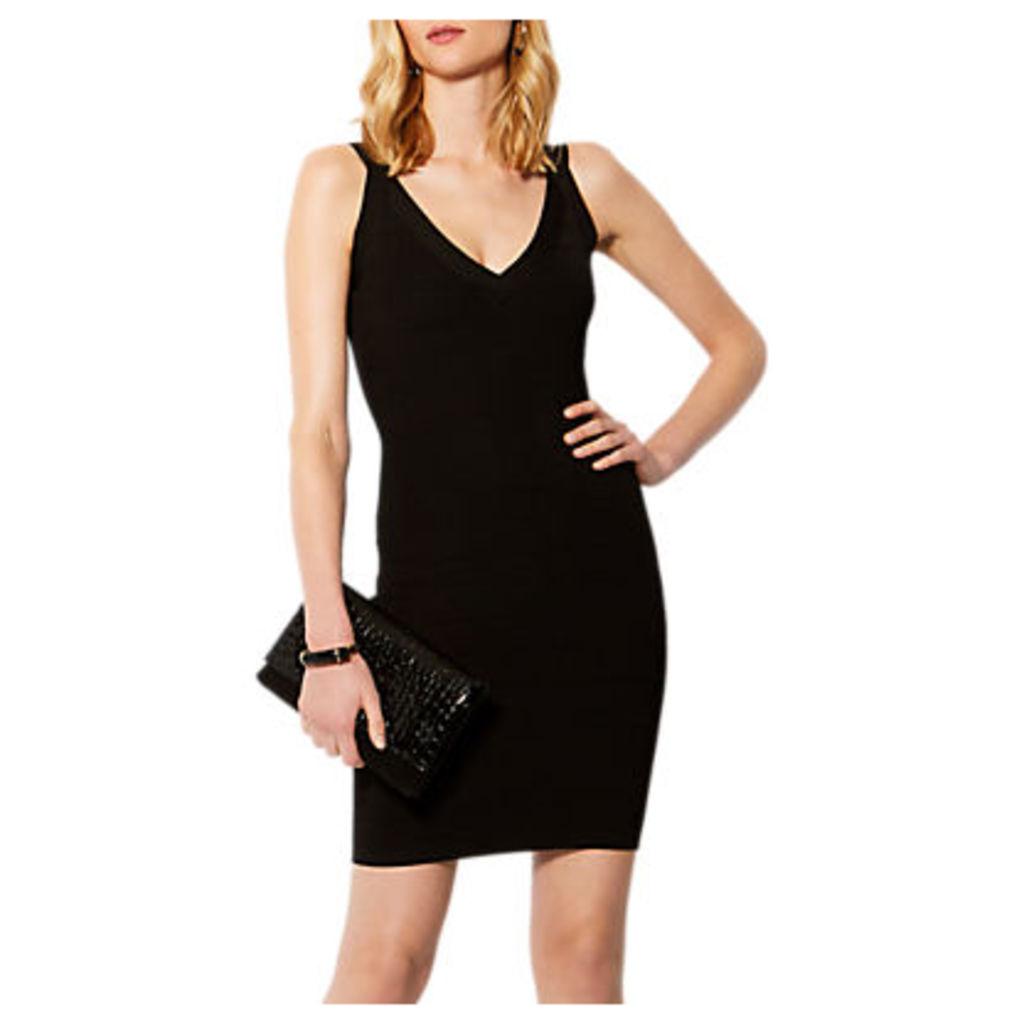 Karen Millen Bandage Knit Bodycon Dress, Black
