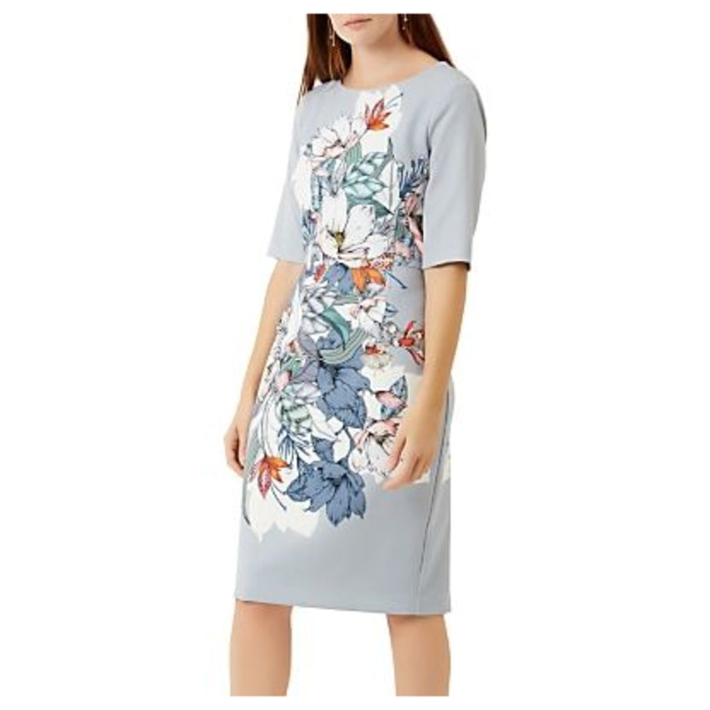 Fenn Wright Hibiscus Print Dress, Multi