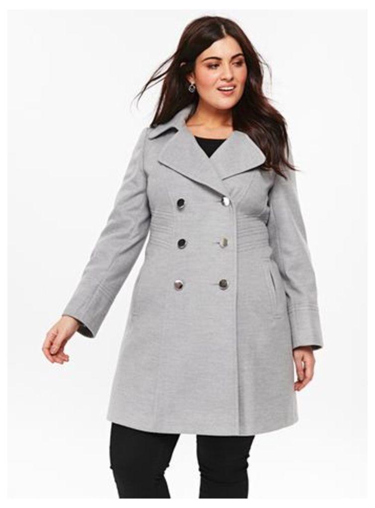 Grey Military Coat, Grey