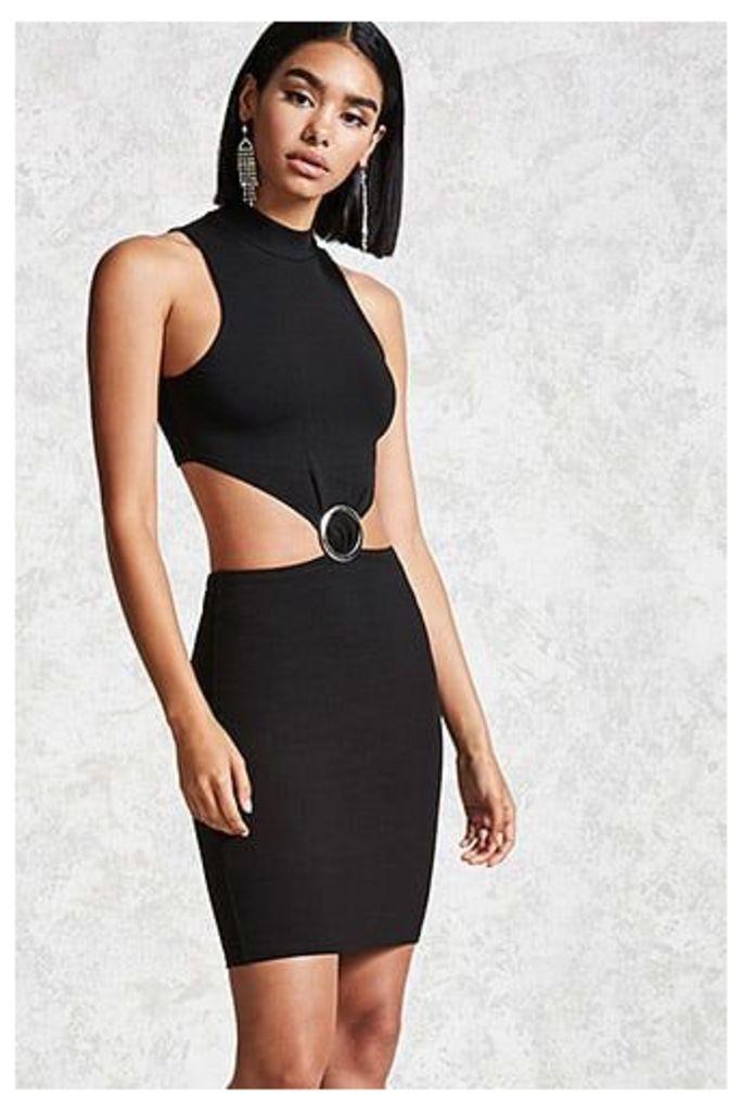 O-Ring Bodycon Mini Dress