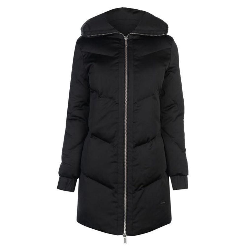 Firetrap Blackseal Long Padded Coat