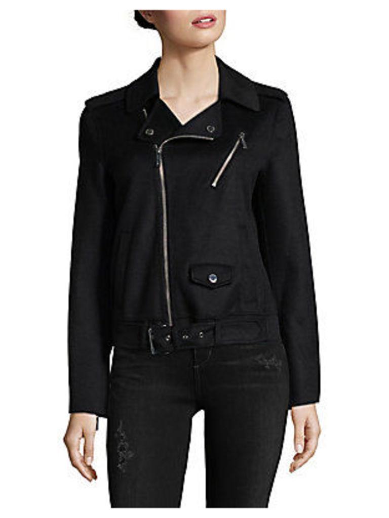 Miss Double Face Moto Jacket
