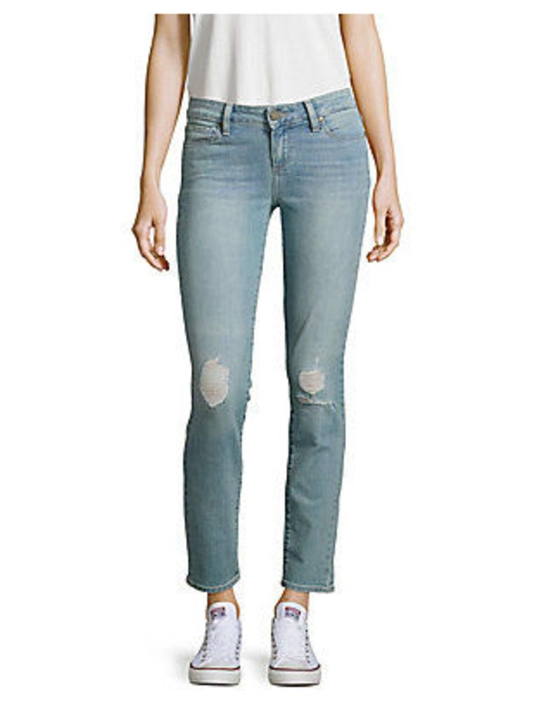 Skyline Distressed Skinny Jeans
