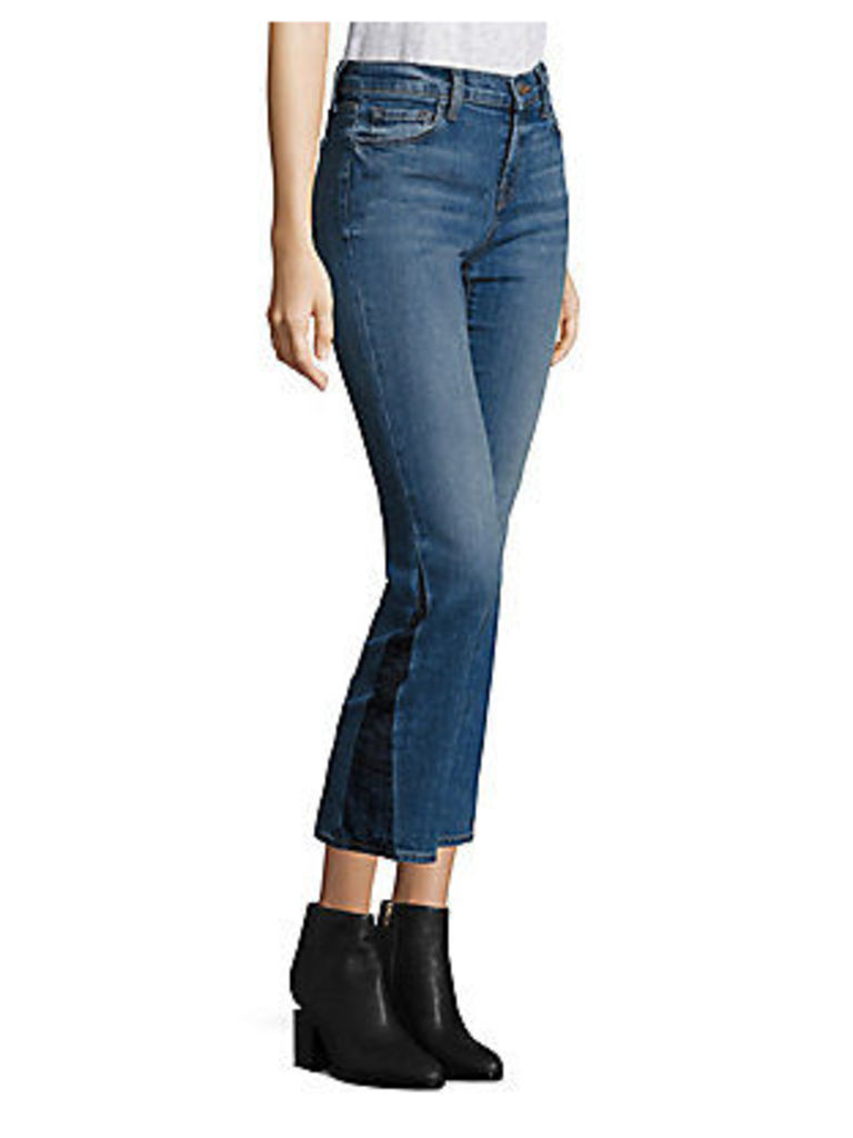 Selena Cropped Bootcut Jeans/Ascension