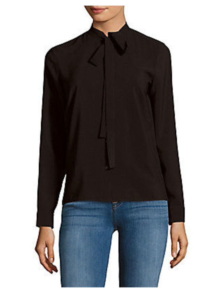 Solid Long-Sleeve Top