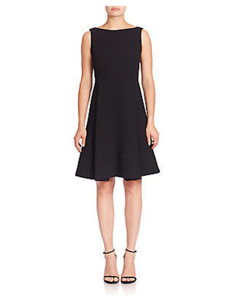Nouveau Crepe Nina Wool Dress