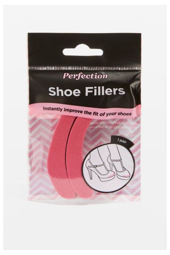 Womens Shoe Filler End Pads - Pink, Pink