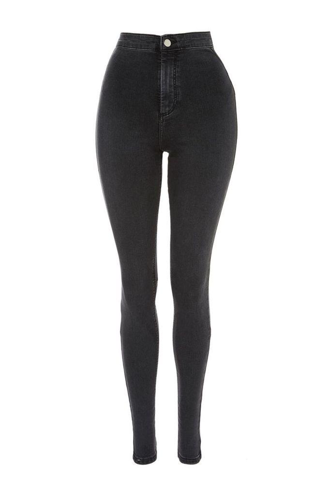 Womens TALL Black Joni Jeans - Washed Black, Washed Black