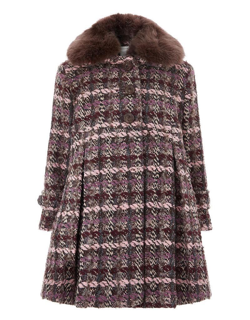 Nora Tweed Coat