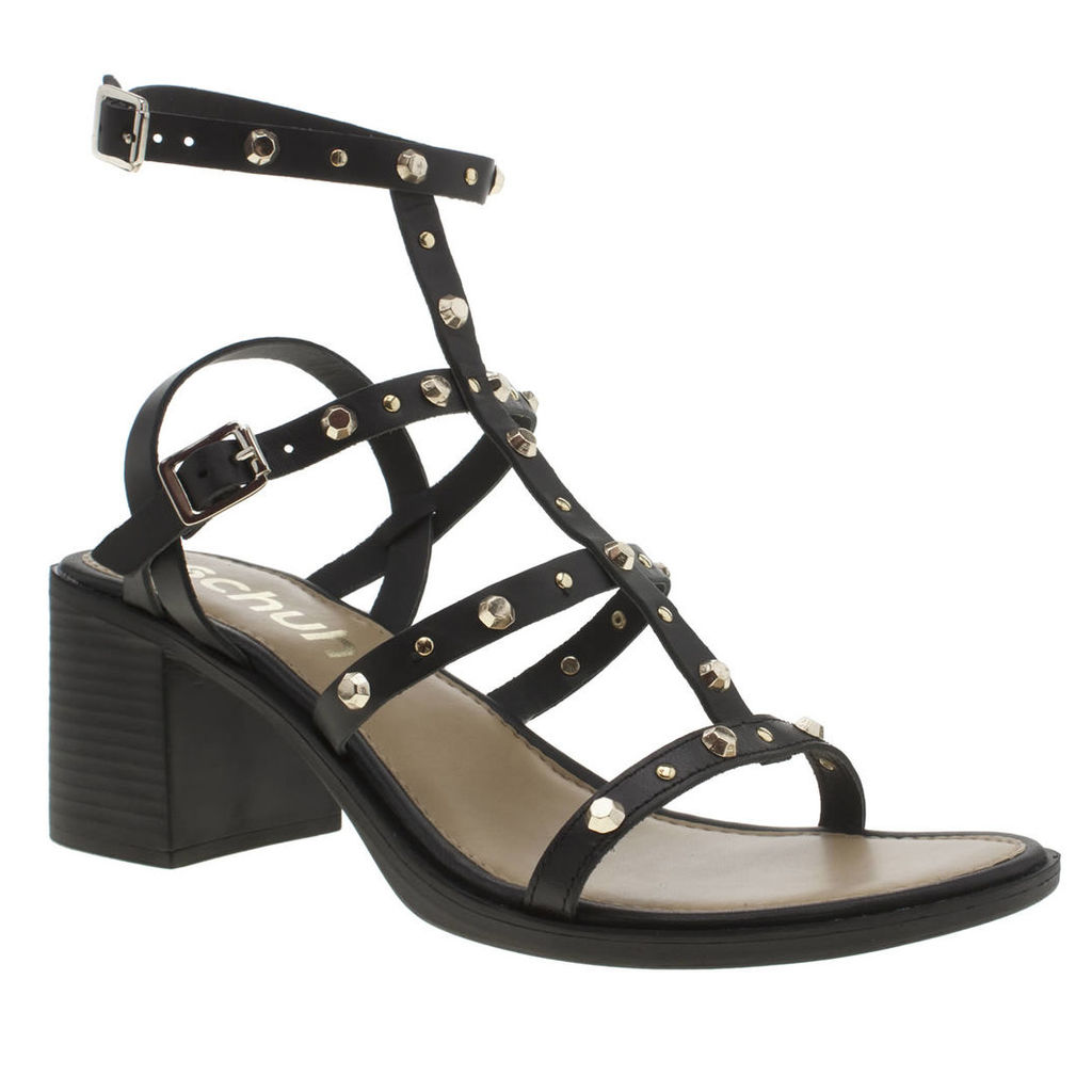 schuh black lingo sandals