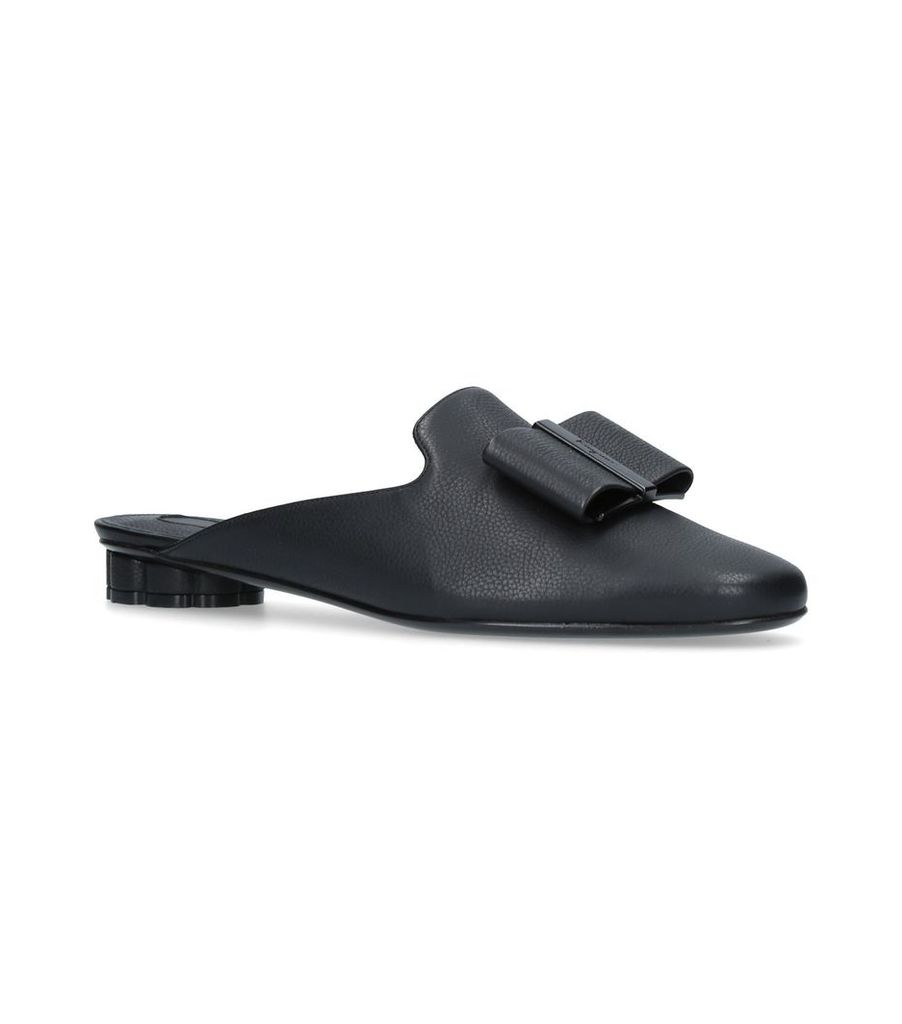 Leather Sciacca Mules