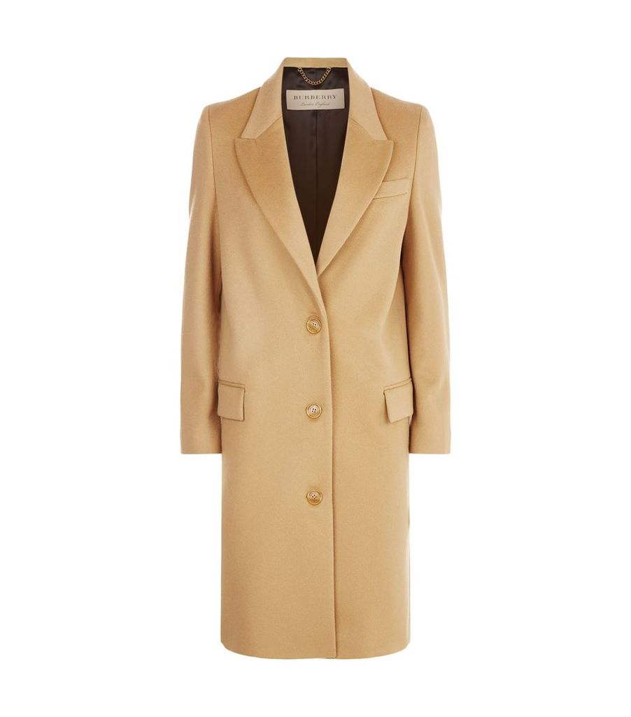 Wool and Cashmere Tailored Coat