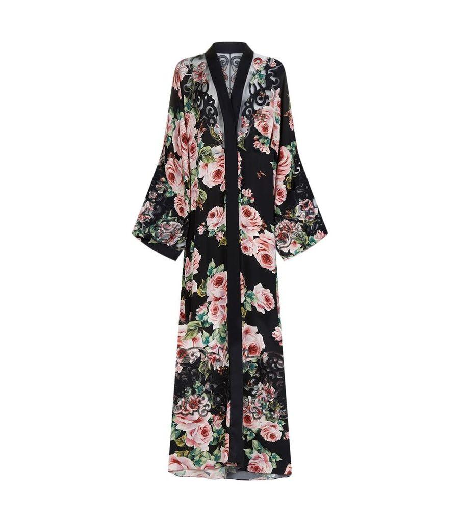 Floral Kimono Gown