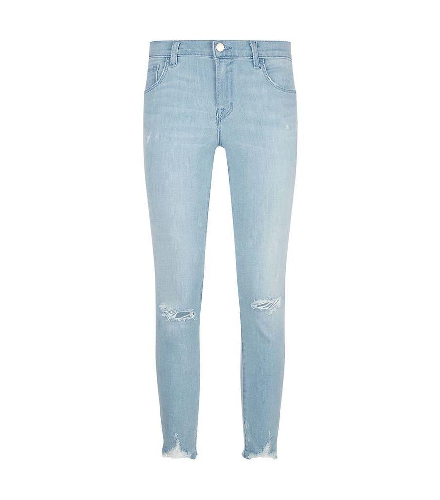 Capri Mid-Rise Crop Jean