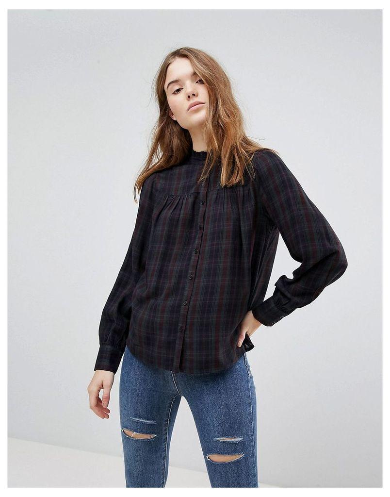 New Look Check Shirt - Green pattern