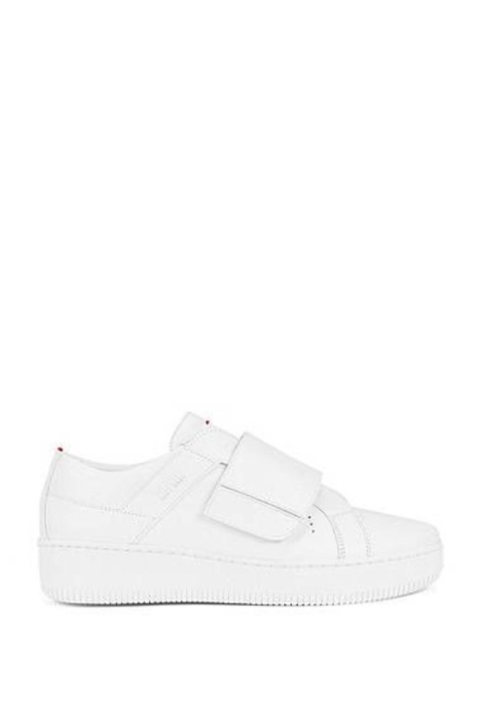 Riptape trainers in Italian leather